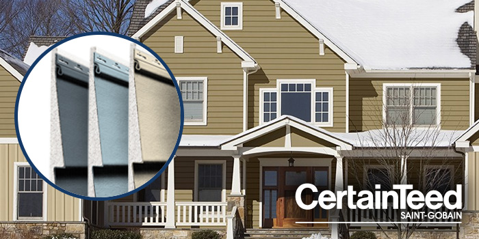 CertainTeed Insulated Siding