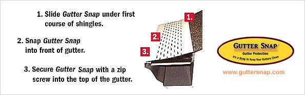 Wholesale Siding Depot Gutter Snap Gutter Protection